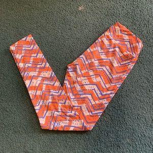 LuLaRoe zigzag leggings